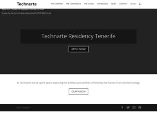 technarte.org screenshot