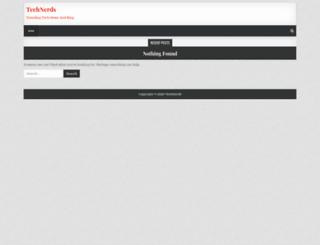 technerds.work screenshot