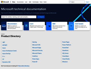 technet.com screenshot