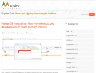 technet.massivetechnolab.co.in screenshot