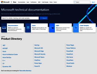 technet.microsoft.com screenshot