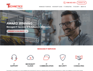 technetics.com.au screenshot
