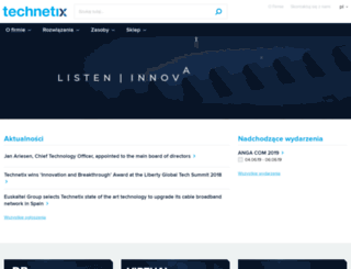 technetix.pl screenshot