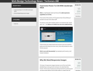 technews.am screenshot