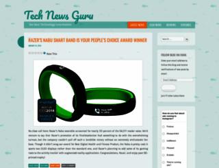 technewsguru.wordpress.com screenshot