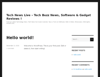 technewslive.info screenshot