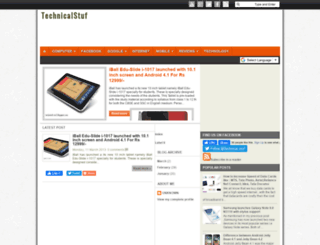 technical-stuf.blogspot.com screenshot