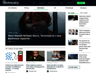 technicallybaltimore.com screenshot