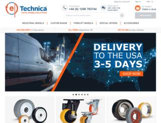 technicawheels.co.uk screenshot