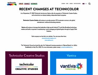 technicolor.com screenshot