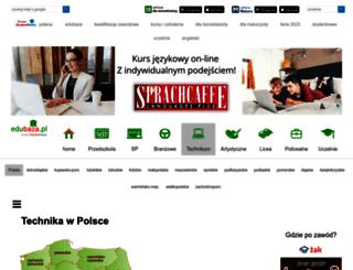 technikum.edubaza.pl screenshot