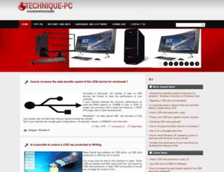 technique-pc.net screenshot