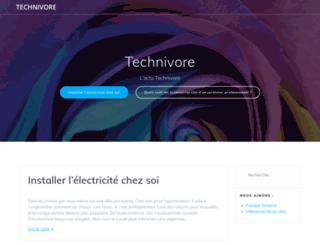technivore.info screenshot