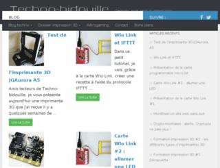 techno-bidouille.com screenshot
