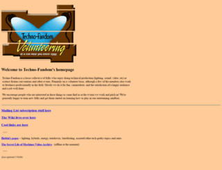 techno-fandom.org screenshot