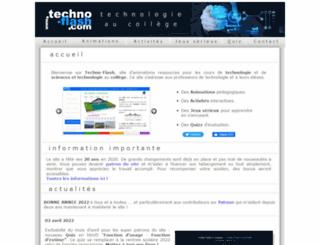 techno-flash.com screenshot