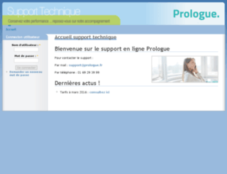 techno.prologue.fr screenshot