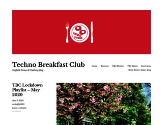 technobreakfastclub.co.uk screenshot