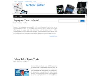 technobrothermarlon.blogspot.com screenshot