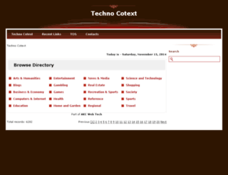 technocotext.com screenshot