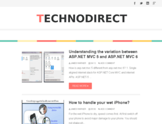 technodirect.blogspot.com screenshot