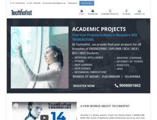 technofist.com screenshot