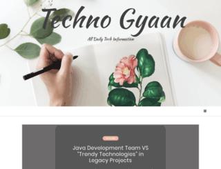 technogyaan.com screenshot
