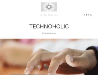 technoholic.xyz screenshot