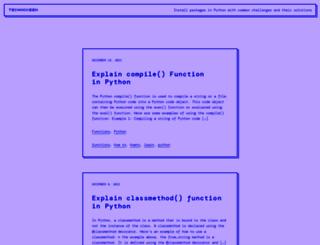 technokeen.com screenshot