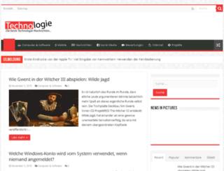 technologie-weld.com screenshot
