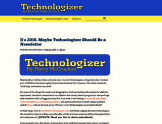 technologizer.com screenshot