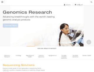 technology.illumina.com screenshot
