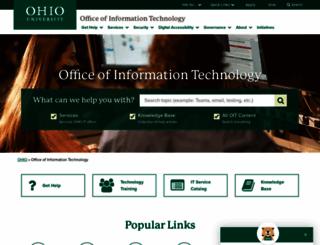 technology.ohio.edu screenshot