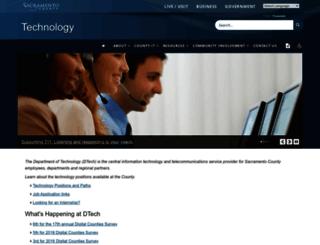 technology.saccounty.net screenshot