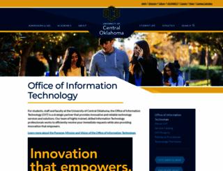 technology.uco.edu screenshot