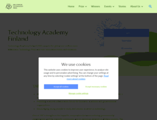 technologyacademy.fi screenshot
