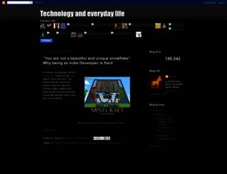 technologyandeverydaylife.blogspot.fr screenshot