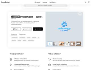 technologycrowd.com screenshot