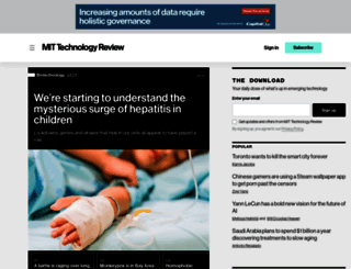 technologyreview.com screenshot