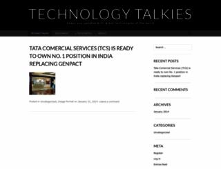 technologytalkies.wordpress.com screenshot