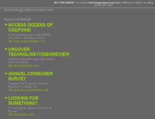 technologyvideoreview.com screenshot