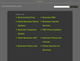 technomild.com screenshot