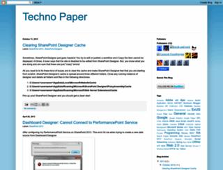 technopaper.blogspot.com screenshot