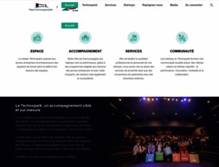 technopark.ma screenshot