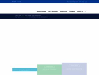 technopark.org screenshot