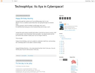 technophilya.blogspot.com screenshot