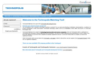 technopolis.b2bmatchmaking.com screenshot