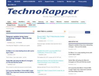 technorapper.com screenshot