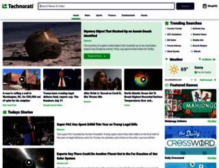 technorati.com screenshot