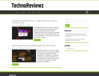 technoreviewz.com screenshot